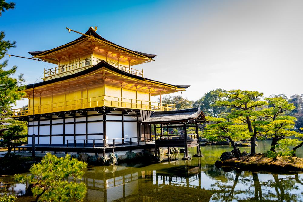 Kinkaku-ji - Padiglione d'oro di Kyoto
