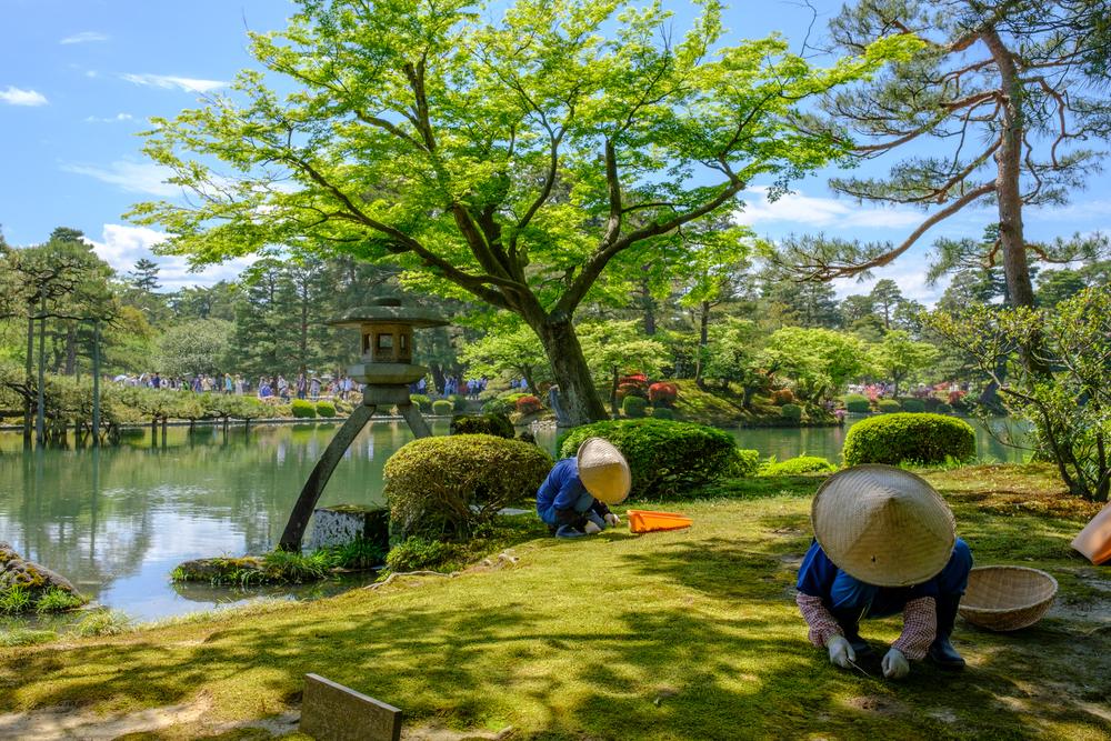 Giardino Kenroku-en a Kanazawa