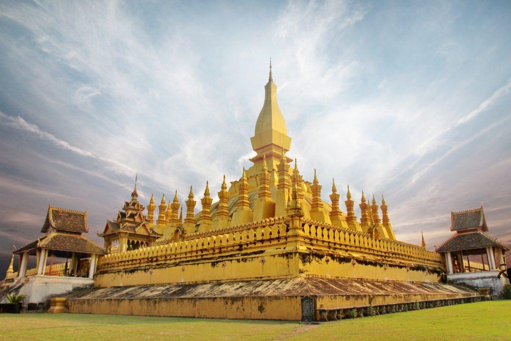 Pha That Luang, monumento simbolo di Laos