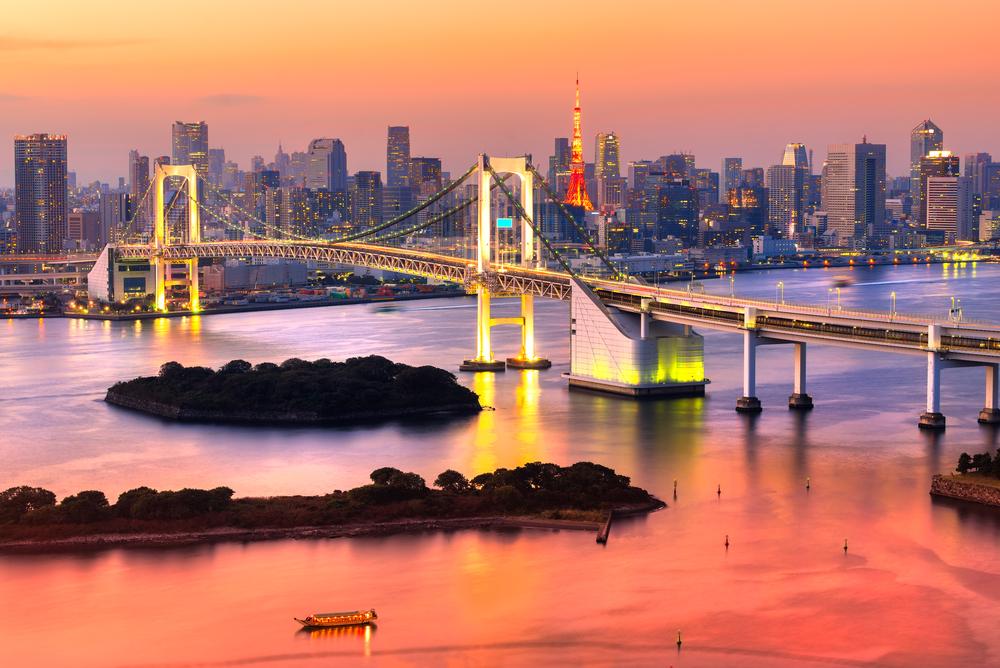 Tokyo , vista della città