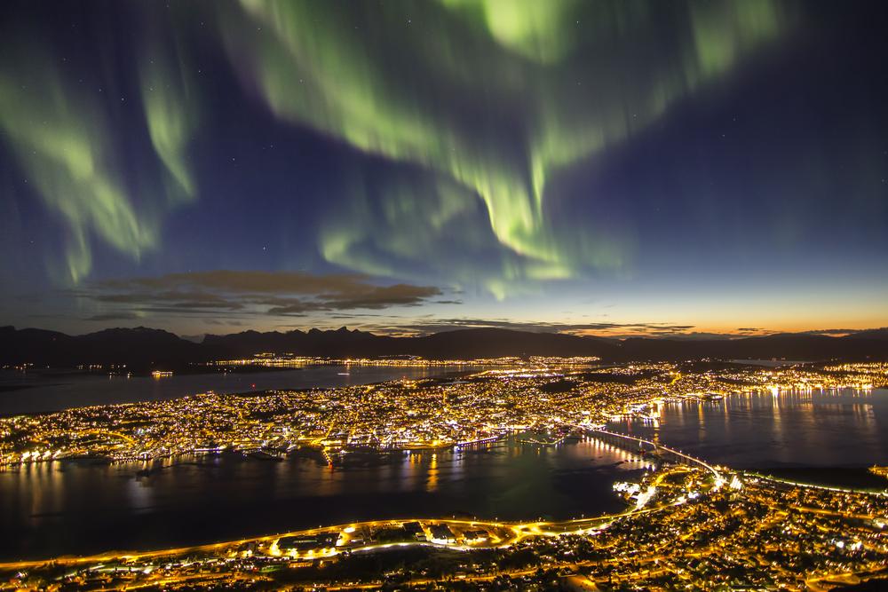 Tomsø - aurora boreale