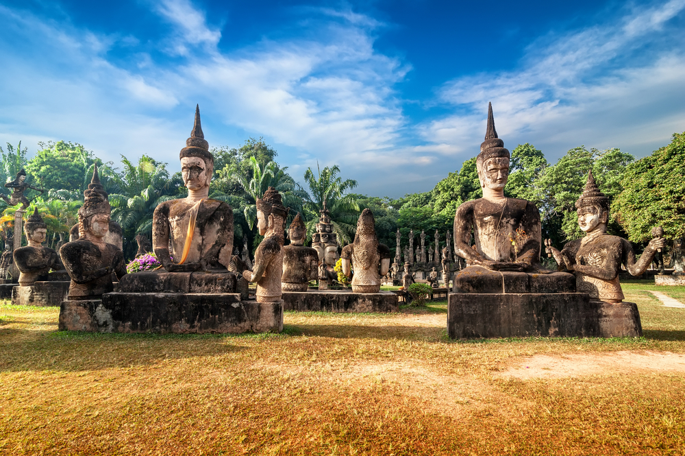 Wat Xieng Khuan - Laos