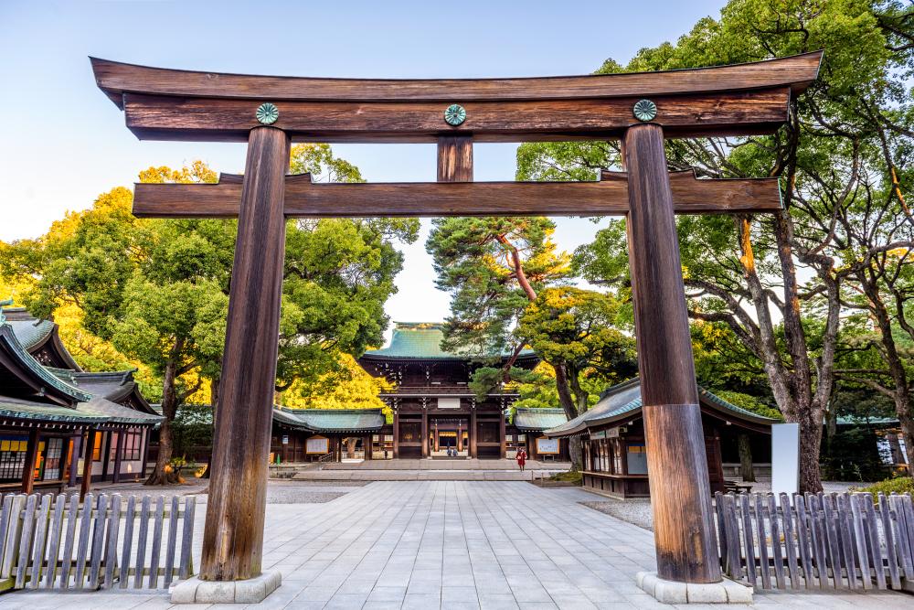 Il Santuario Meiji