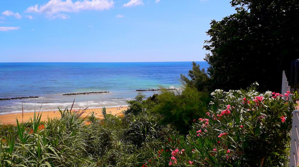 Una splendida e incontaminata spiaggia