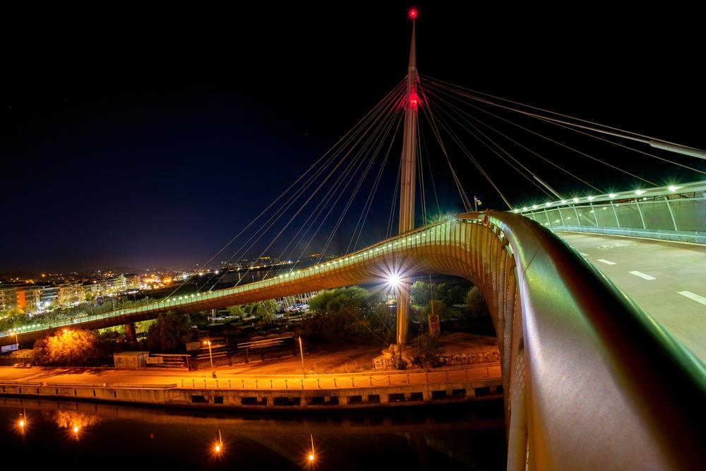 Il Ponte del Mare di sera