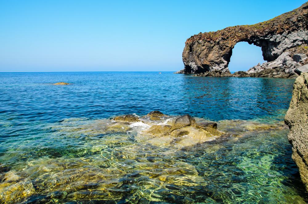 Salina, Spiaggia di Pollara