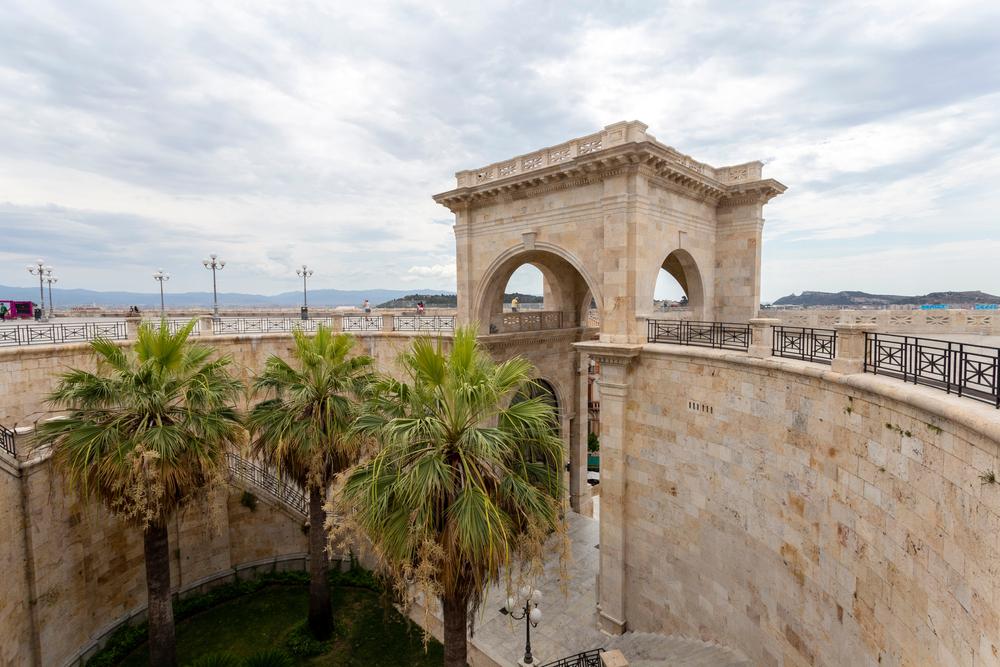 Cagliari, Bastione di Saint Remy