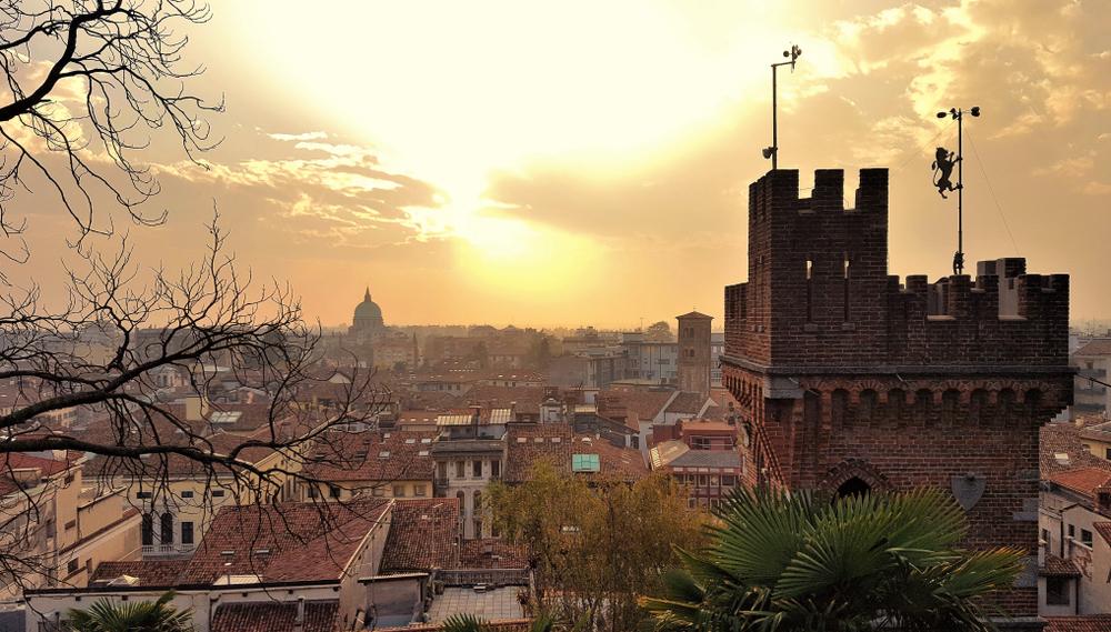 Vista dal Castello di Udine