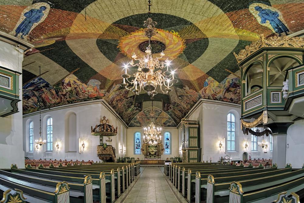 L'interno della Cattedrale di Oslo