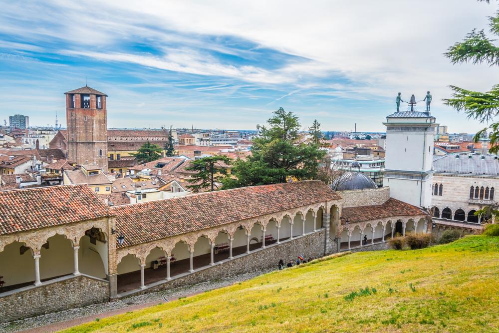 Il panorama di Udine
