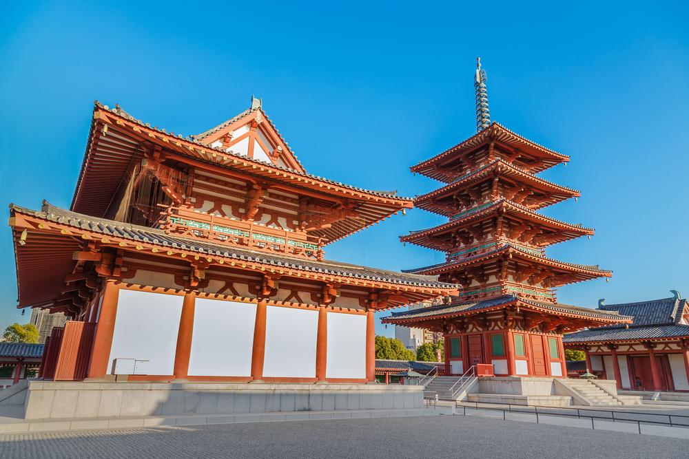 Osaka, Tempio Shitennoji