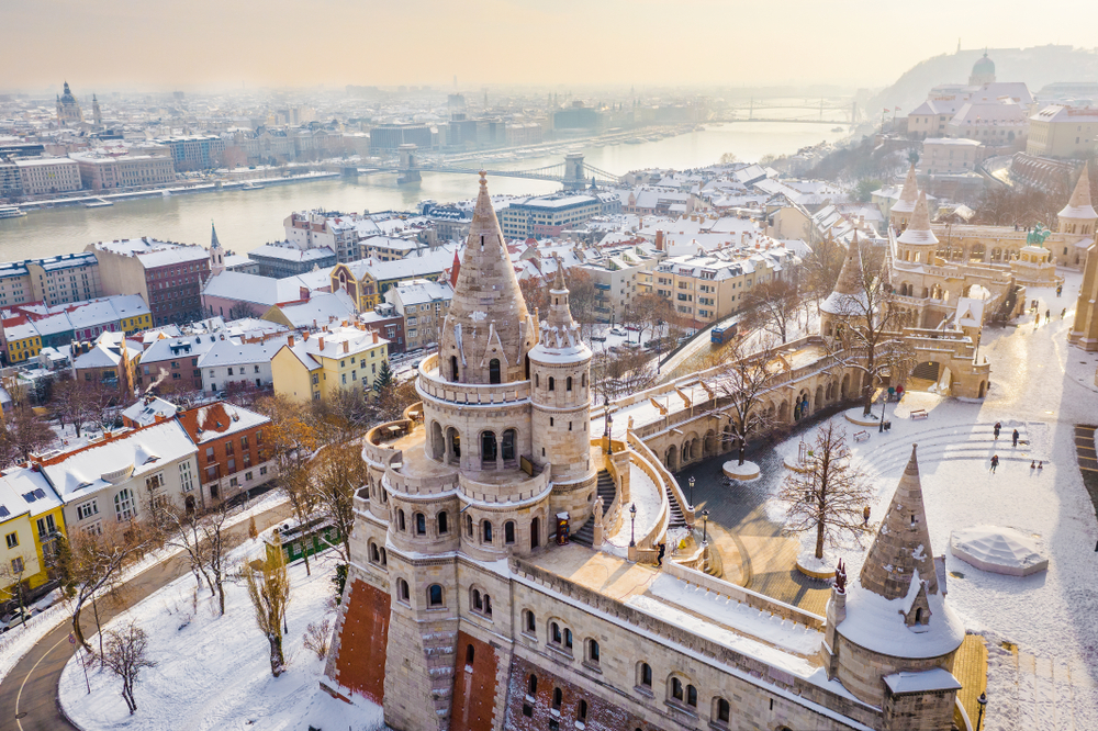 Budapest in inverno