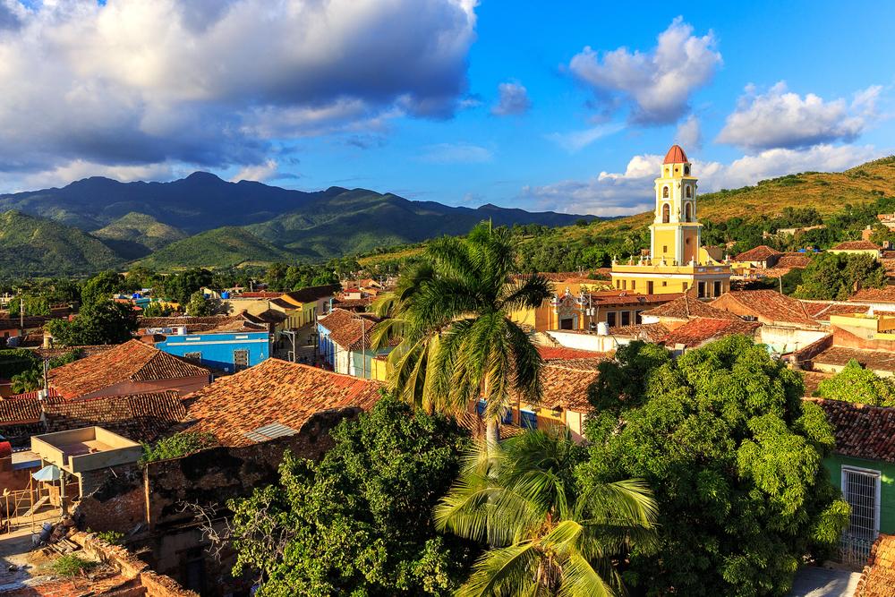 Il panorama di Trinidad