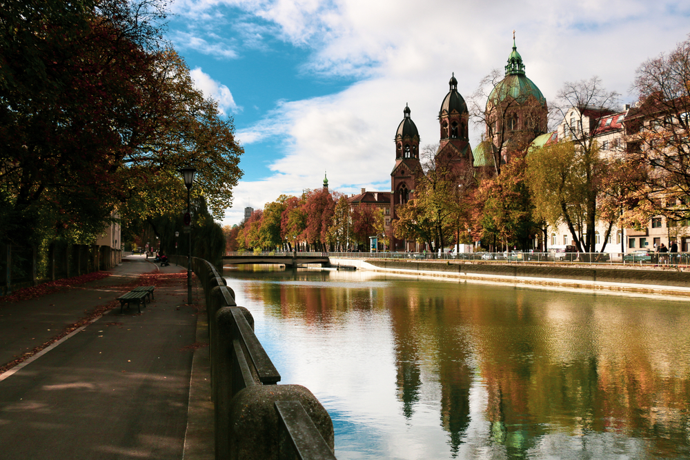 La bellezza di Monaco di Baviera