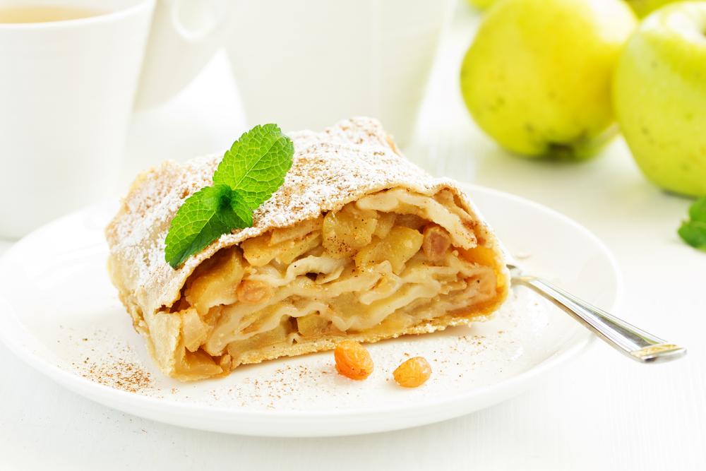 Lo strudel di mele: una specialità di Gorizia