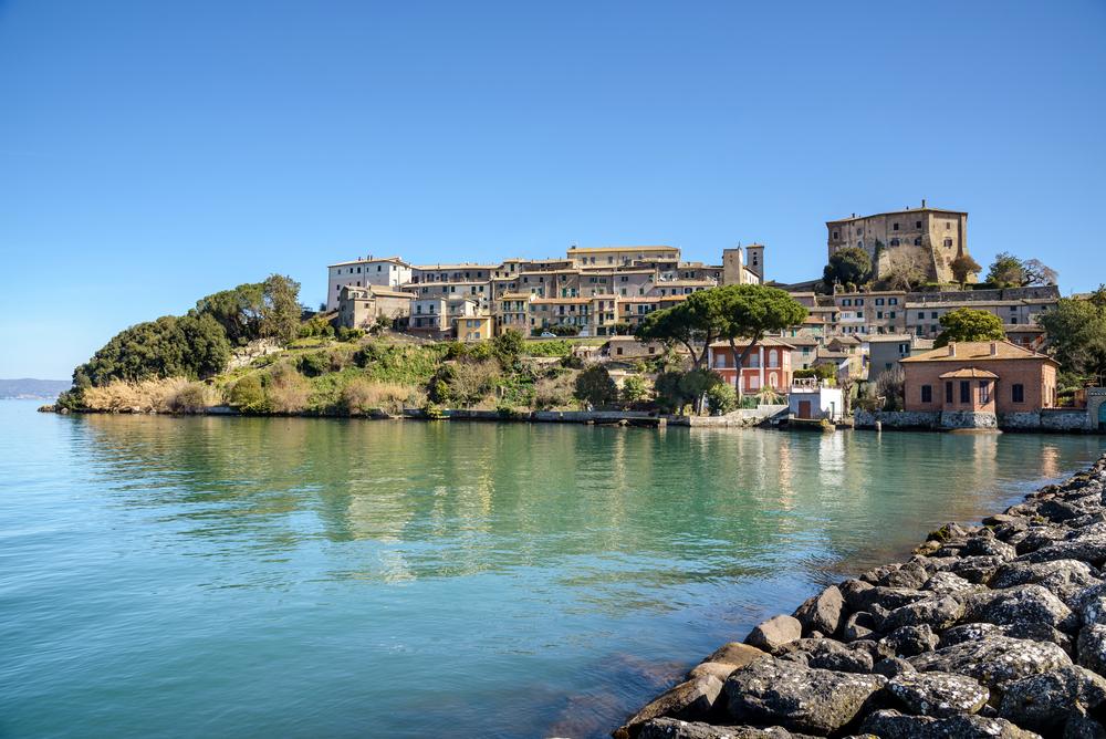 Lago di Bolsena, panorama