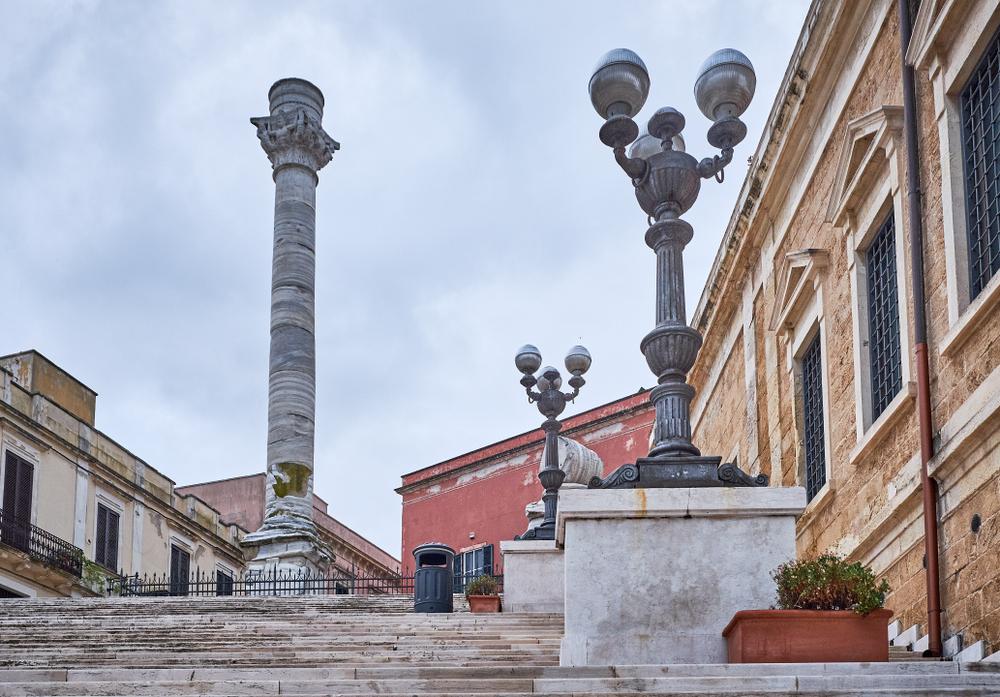 L'area delle Colonne Romane