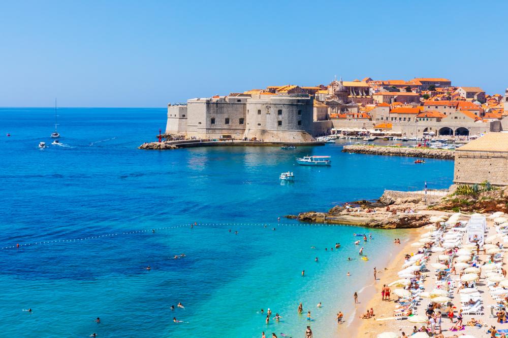 Il mare di Dubrovnik