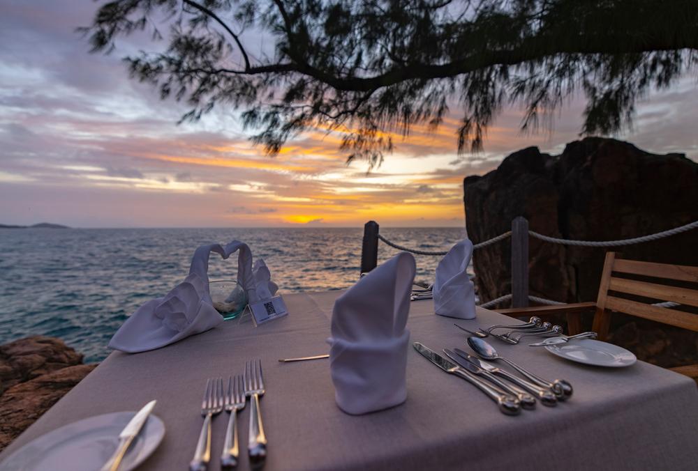Un luogo dove cenare in riva al mare