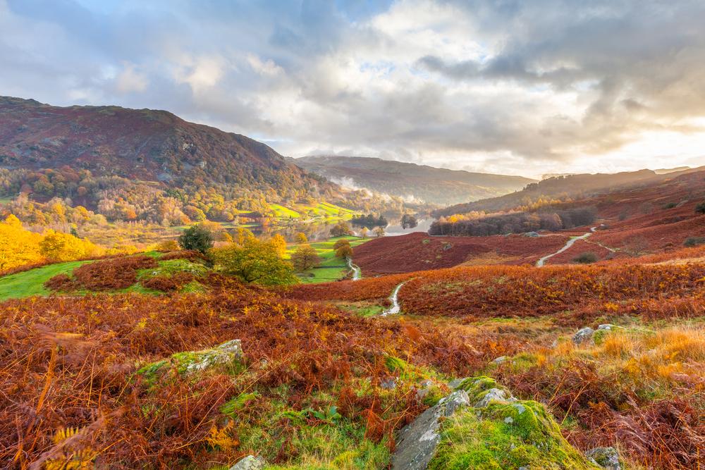 Lake District, panorama