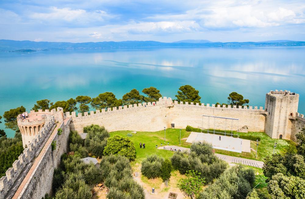 Castiglione del Lago, panorama
